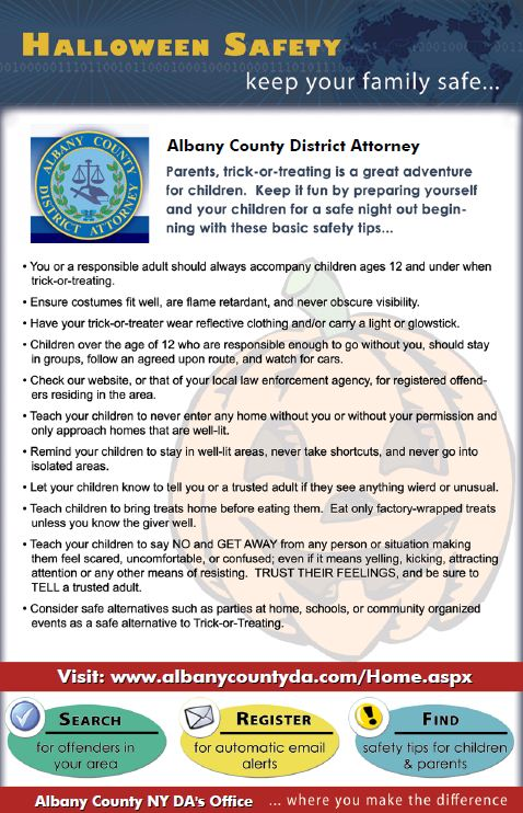 please also check out some trick or treating safety tips and recommendations for parents - Halloween Tips For Parents